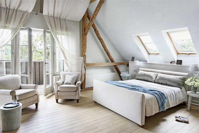 Дизайнерские шторы в спальню